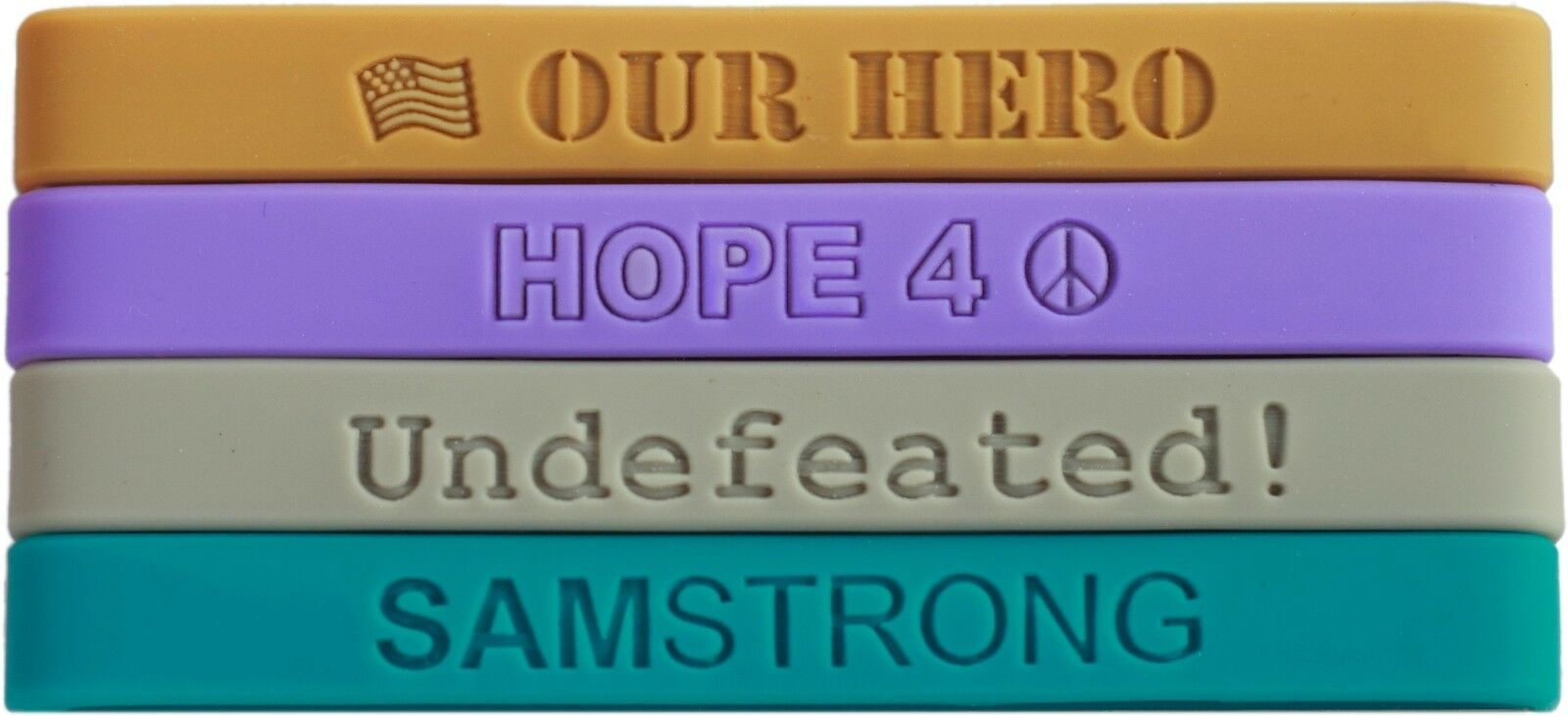 500 silicone wristbands - FREE free TEXT and FREE - IMAGES 65a543