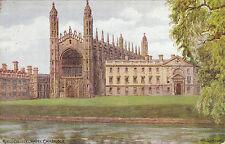 Artist Drawn, King's College Chapel, CAMBRIDGE, Cambridgeshire - A. R. Q.