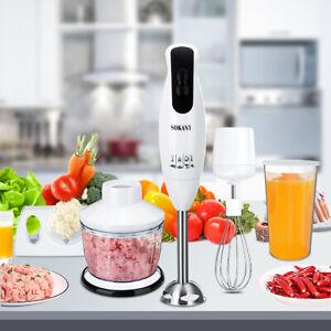 SOKANY-Electric-Hand-Blender-Stick-Juicer-Mixer-Meat-Grinder-Food-Chopper-600W