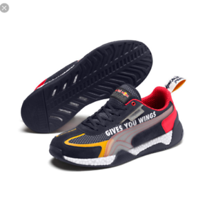 Details about Shoes Puma Man Rbr Speed Hybrid Night Sky Blue Red Bull F1 Spo 339810 01