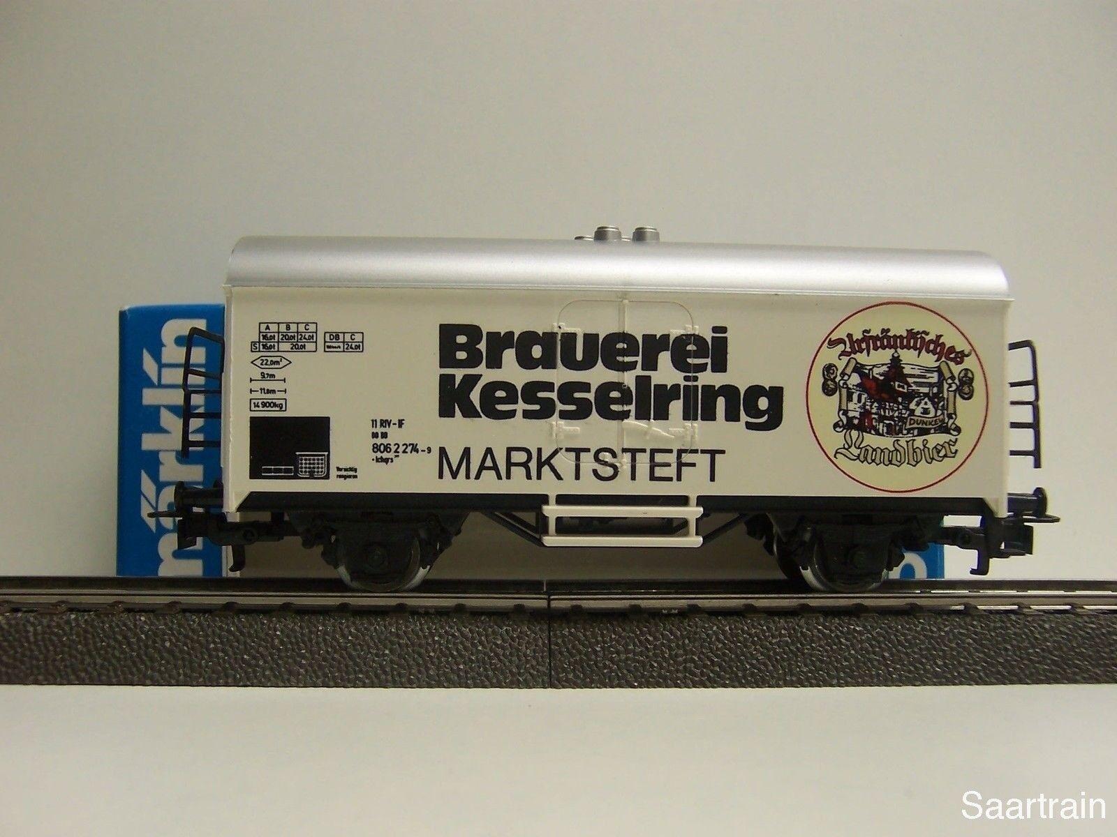 EE 7195 LN Marklin HO Number Plate Set 12 Metal Stands w Blue Box OBX LikeNew