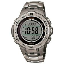 Casio Watch Protrek Slim Line Series Triple Sensor Ver. 3 Prw-3100t-7jf