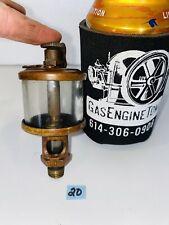 Lonergan 884 Brass Oiler Hit Miss Gas Engine Vintage Antique Steampunk