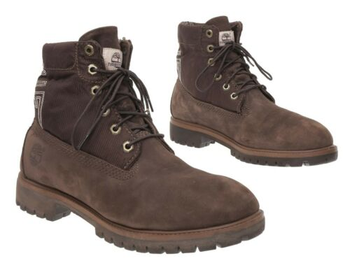 TIMBERLAND Hiking Boots 10 M Men Brown Suede Leath