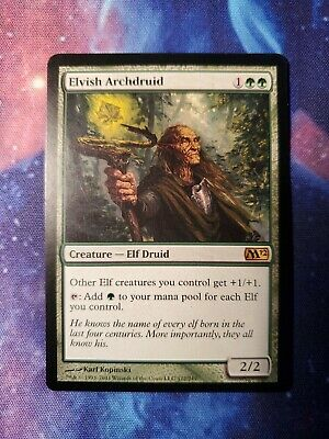 Elvish Archdruid Magic the Gathering MTG M13 2013 SP//NM