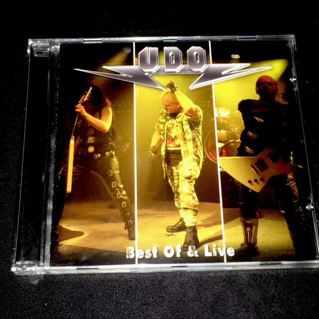U.D.O. Best Of & Live CD New/STILL SEALED AC/DC Priest MAIDEN ACCEPT Motörhead