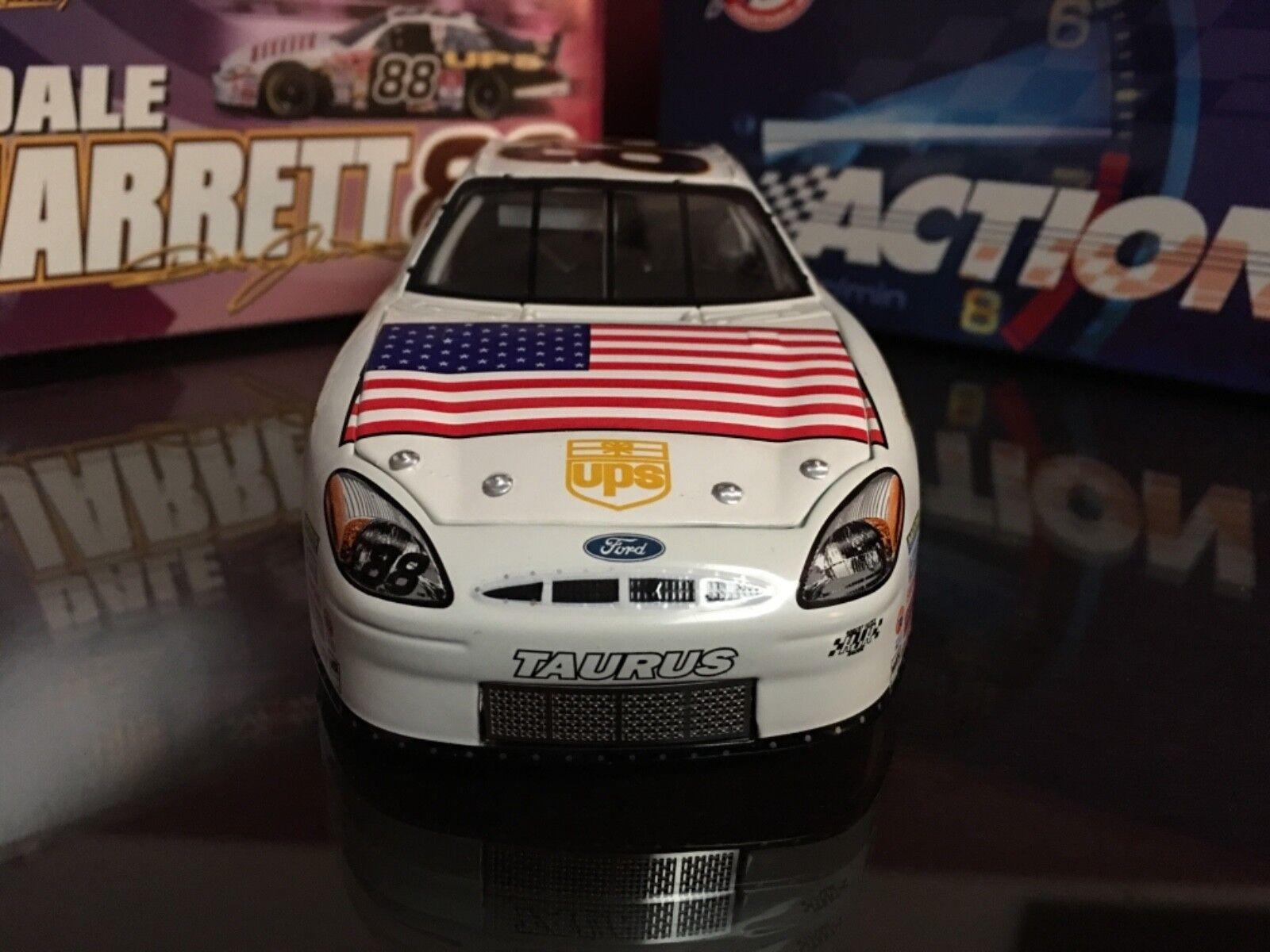 Acción  88 Dale Jarrett, día día día de los caídos esquema de Color, 2001 Ford Taurus  promociones