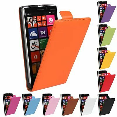 For NOKIA Ultra-thin PU Leather Magnetic book flip up&down case skin cover