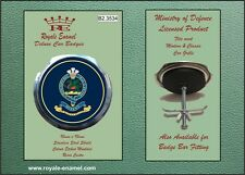 Royale Military Car Grill Badge - THE QUEEN'S REGIMENT - B2.3534