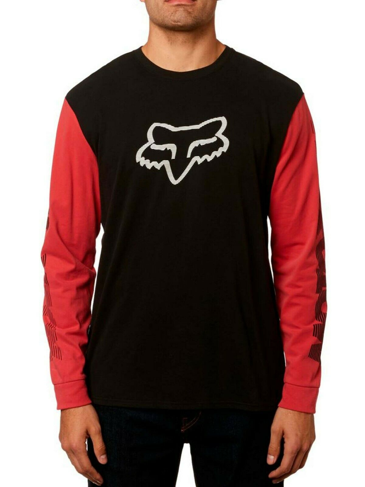 Fox Racing Men's Victory Long Sleeve Airline Tee with Foxhead Motocross Logo