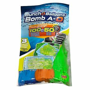 Bunch O Balloon Wasserbomben 100 Wasser Bomben Strauß  Splash Toys Luftballons