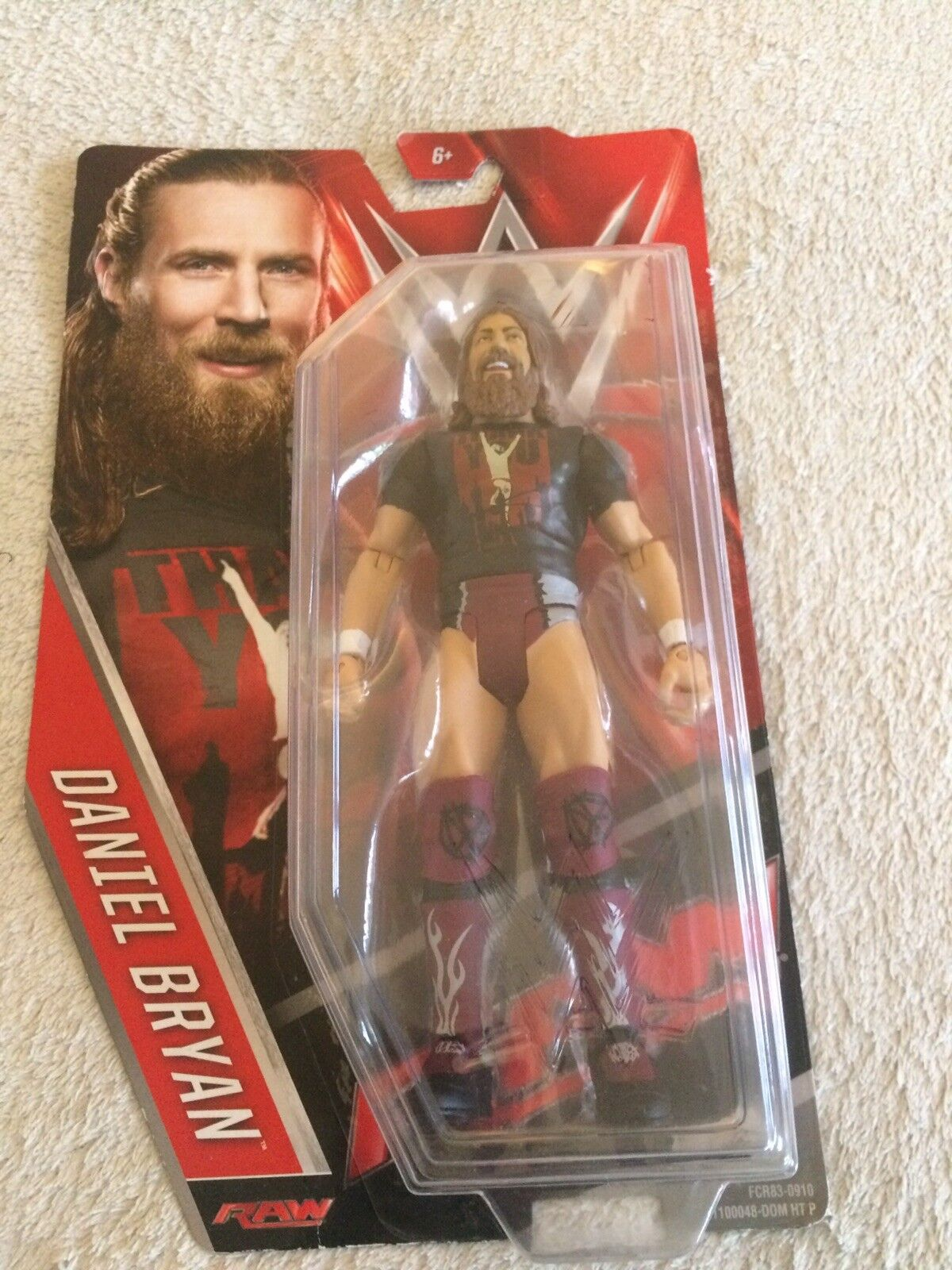 Dainel Bryan Thank You Figure In Box