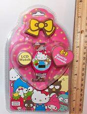 Hello Kitty 50th Anniversary Sanrio Friends LCD Digital Watch 2010 BNIP