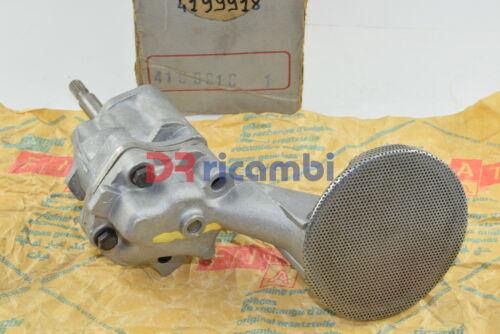 POMPA OLIO MOTORE FIAT 124 124 SPIDER //125  132 GLS  cod FIAT 4199918 4198758