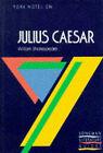 York Notes on William Shakespeare's  Julius Caesar by Suheil Badi Bushrui, A. Norman Jeffares (Paperback, 1988)