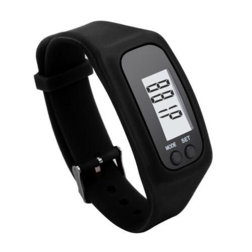 Digital LCD Schrittzähler Laufschritte Wandern Entfernung Kalorienzähler
