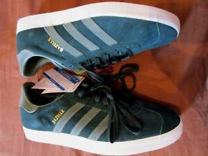 low priced 474e9 5297e Mens Originals lt  Trainers Adidas Size 11 Gazelle 46 Uk Cm Eu New Tonal  Green 29 dUZwqd1