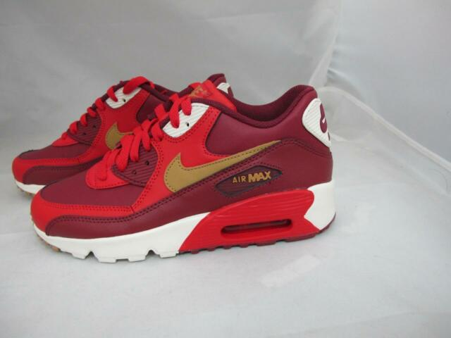 1f233a3d642a Nike Kids Air Max 90 Ltr (gs) Running Shoe 7 M US Big Kid Game Red ...