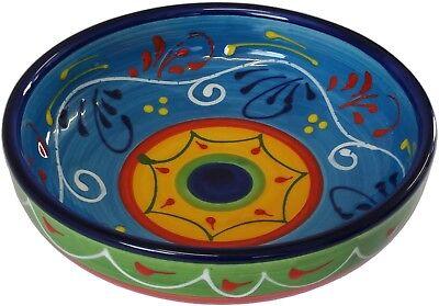 PLATO Tazón De Tapas 18 X 5 cm binoculares tradicionales español hecho a mano de cerámica de barro