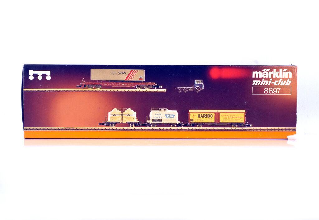 MARKLIN MINI-CLUB 8697 Z Gauge  REGIONAL - WAGENSET WEST GÜTERWAGENSET