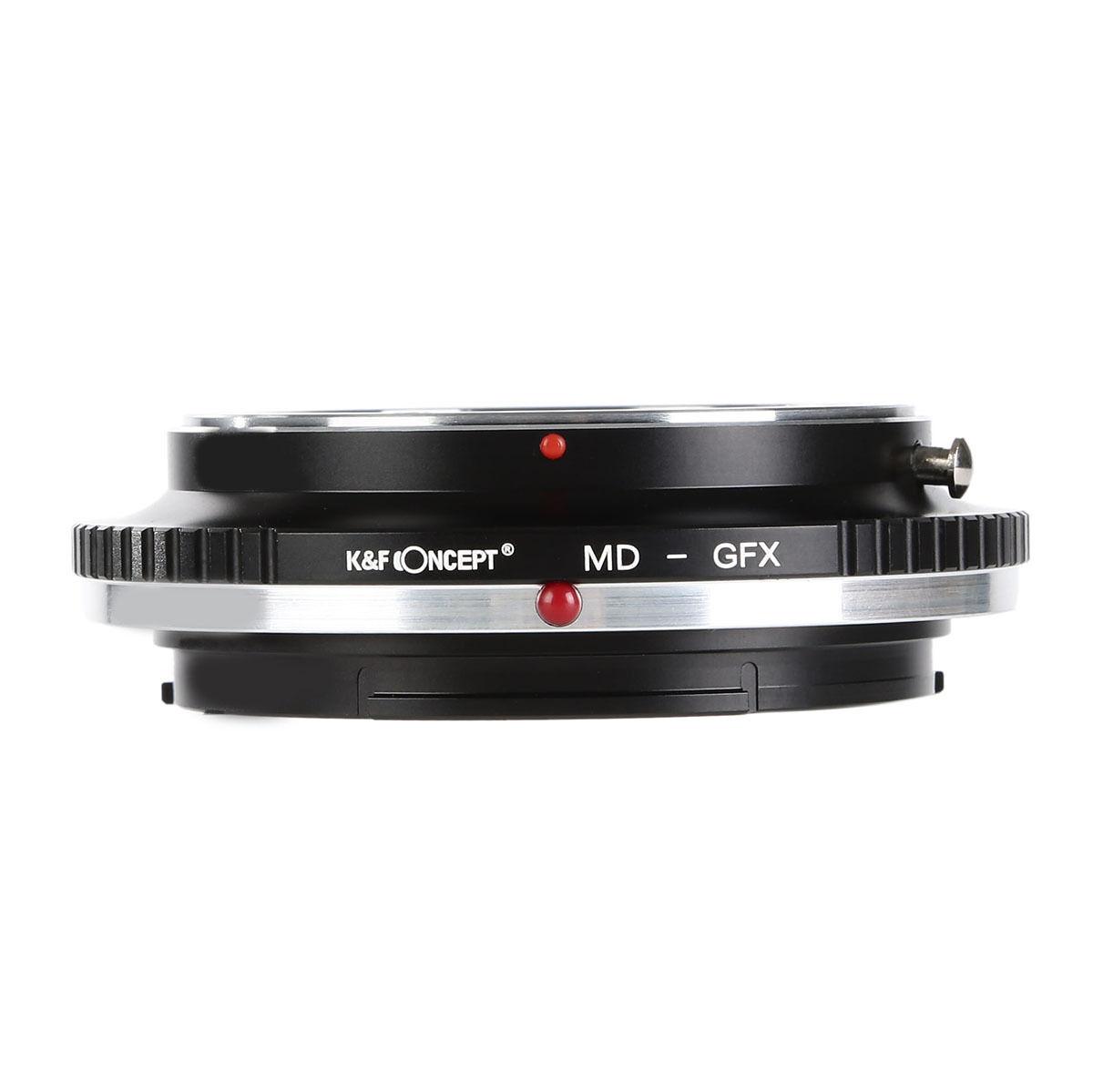 Kf Concept Adapter For Minolta Md Mount Lens To Fuji Gfx Medium Kipon Mamiya 645 Format Camera