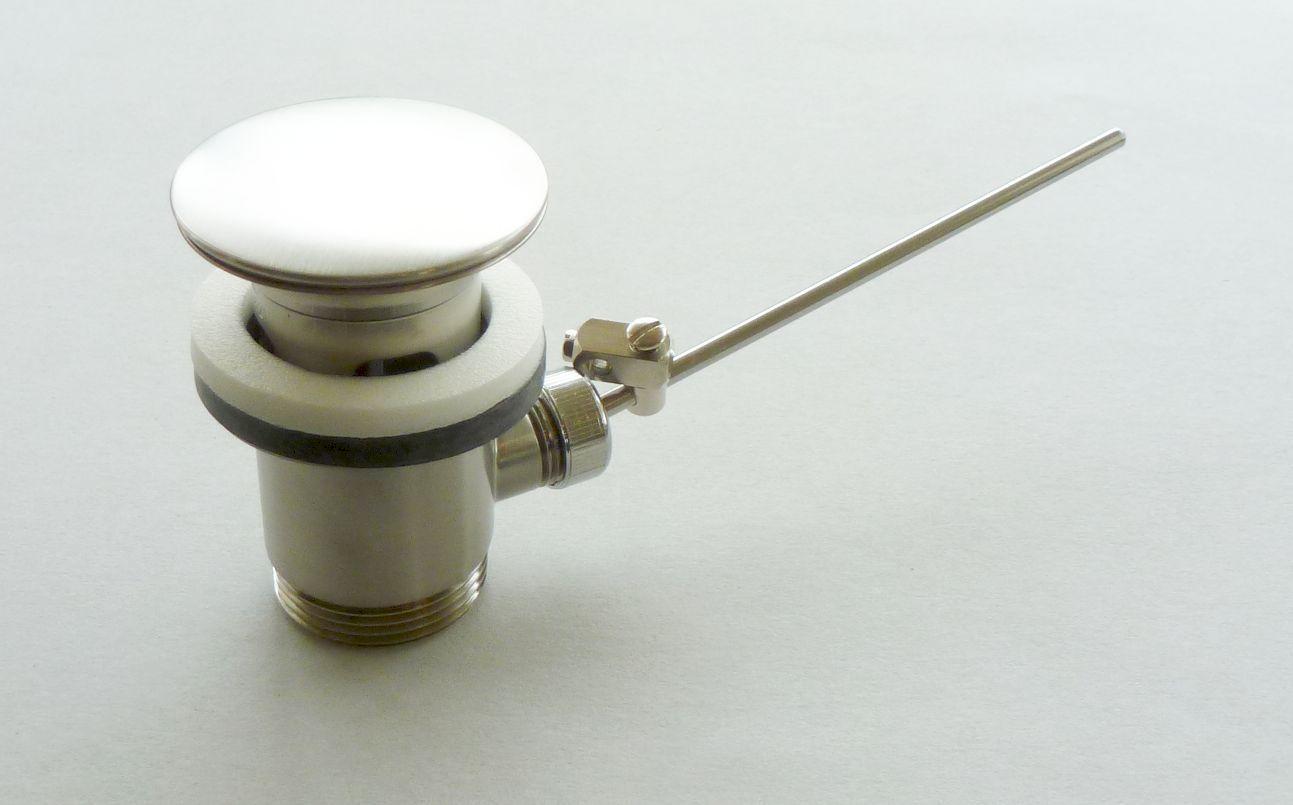 Hansgrohe Zugstangen- Ablaufgarnitur für Waschtisch STEEL Edelstahloptik | Feinen Qualität  | Günstig  | Qualifizierte Herstellung  | Ausgezeichnete Qualität