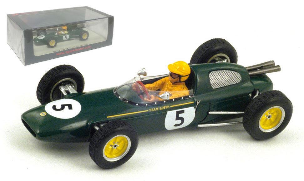 Spark s4272 Lotus 24   5 2º neerlandés Gp 1962-Trevor Taylor 1 43 Escala