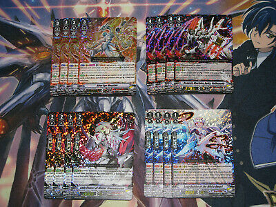 Silverdust Blaze Link Joker Messiah VR-C Playset Lot Cardfight Vanguard!!