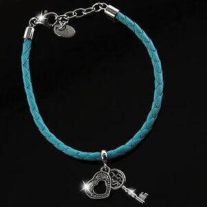 Das Bild wird geladen ESPRIT-Damen-Armband-Armkette-Schmuck -IDENTITY-PASSION-Leder- 27386b26e9