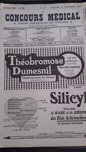 Revista-N-39-El-Concurso-Medical-1938ABE-60-Eme-Annee