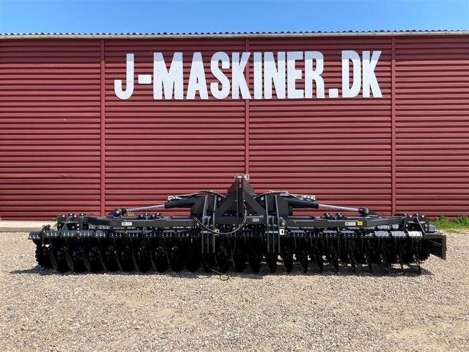 Tallerkenharve, J-Maskiner