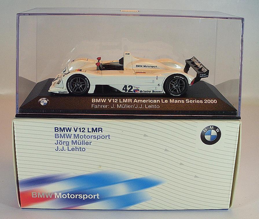 Minichamps 1 43 BMW v12 LMR America LEMANS 2000 Müller Lehto OVP  1632