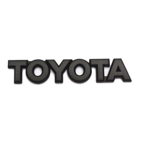 For Toyota 2X Matte Black Tacoma Tailgate Emblem Badges Sticker Nameplate