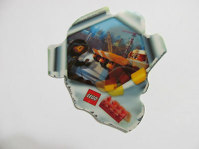 LEGO MOVIE HOLOGRAM 3D sticker card Emmet Wyldstyle 5002044