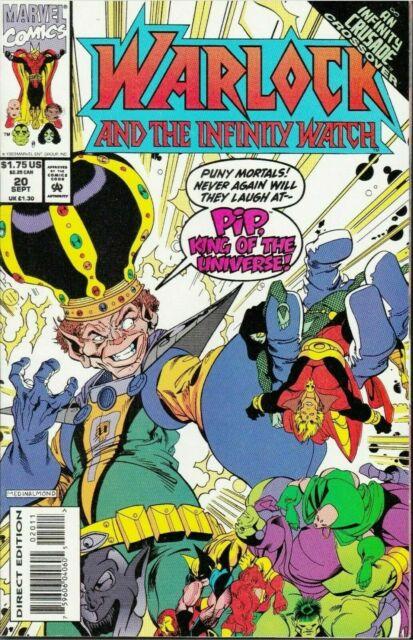 Warlock and the Infinity Watch #20 Marvel Comics September Sep 1993 (VFNM)