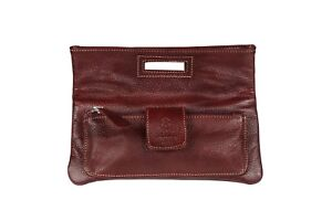 New-Ladies-Women-Fashion-Purse-Real-Leather-Wallet-Clutch-Tan-Distressed