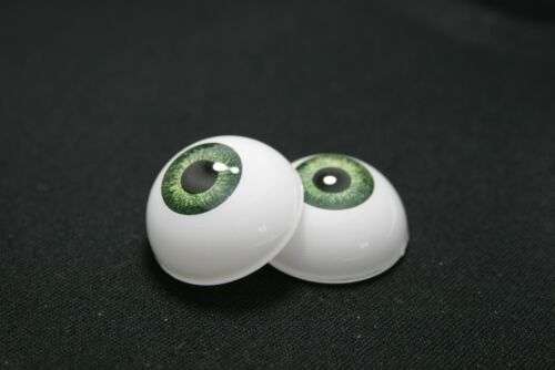 Ojos muñeca reborn 12  mm verde  reborn bjd ooak acrílicos manualidades