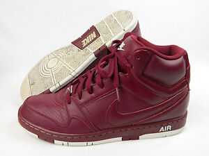 Details about Nike Air Prestige III SI Maroon / Red High Top Sneaker s  Men's Size 13 VG++