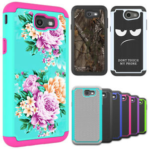 Details about For Samsung Galaxy J7 Sky Pro / J7 2018 Case Hybird Armor  Shockproof Phone Cover