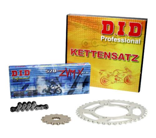 DID Super X-ring Kettenkit SUZUKI DR 750 S BIG tambour 88-89 sr41b