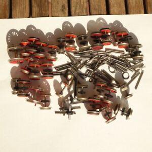 PIKO-Gutzold-h0-DDR-la-raccolta-Zurustteile-pezzi-di-ricambio-30-pezzi-ruote-ecc