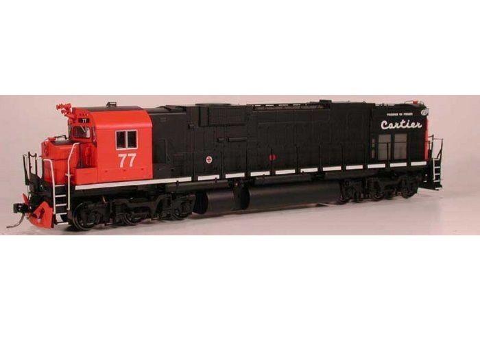 Bowser 23624 HO Locomotora Diesel Alco C636 QCM 79 con Sonido LoksoundDcdcc