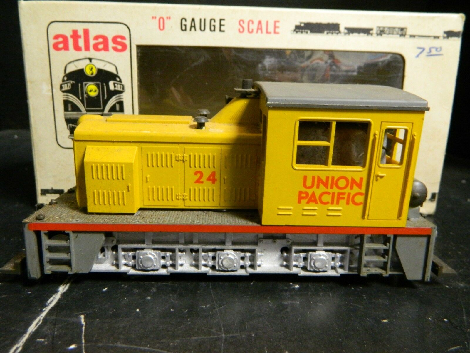 Vintage Atlas WTD Industrial Switcher Union Pacific In Orig. Box Excellent