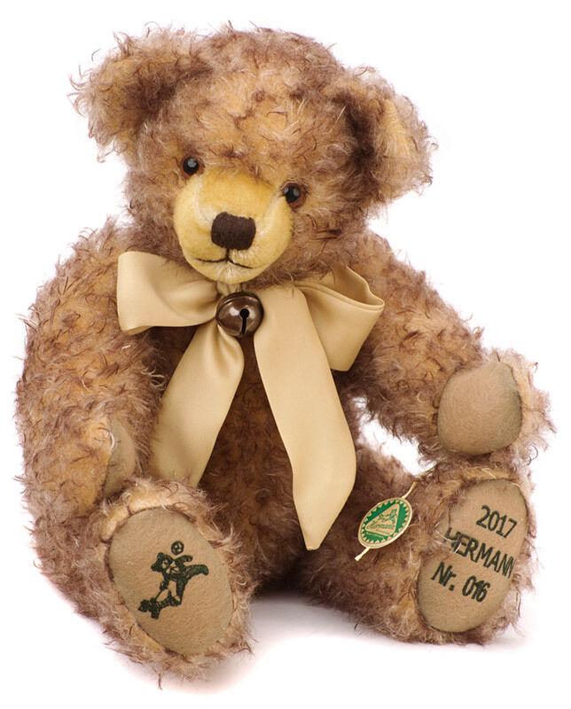 Coming Home - 2017 Annual Teddy Bear by Hermann Spielwaren - 15215-4