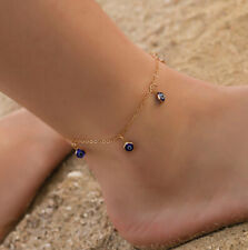 Silver Gold Ankle Bracelet Anklet Adjustable Chain Foot Gift Beach Jewelry S1J9
