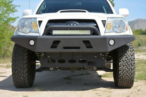 Heavy Duty Front Bumper for 2005-2015 Toyota Tacoma | 3-Piece Modular Design