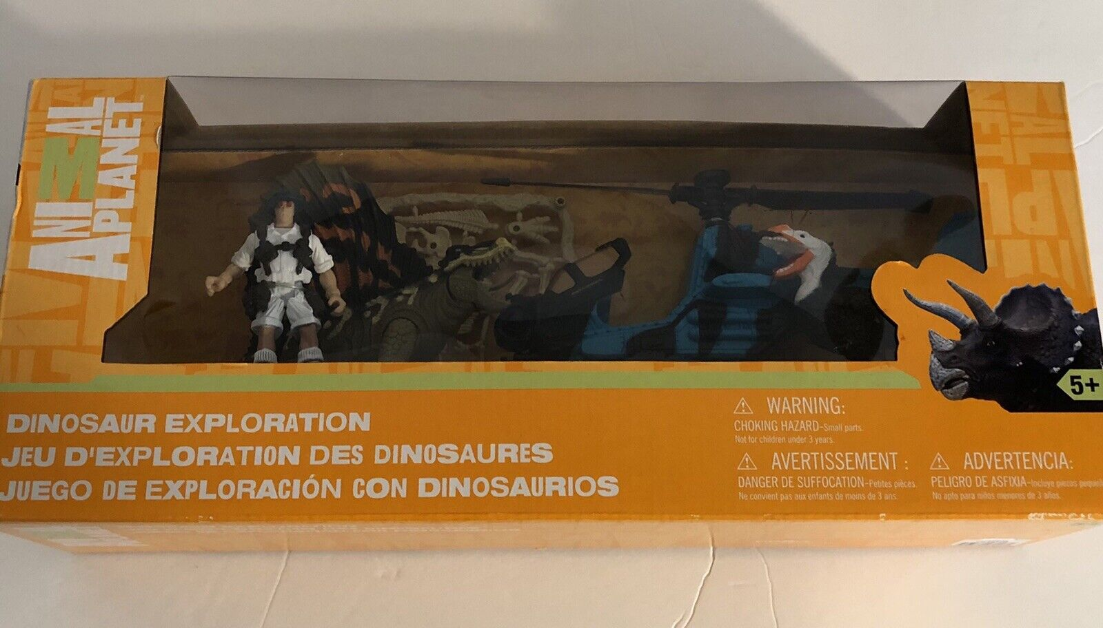 Animal Planet Dinosaur Exploration Playset Age 5 & Up New In Box.