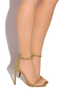 Ankle Strappy Open Toe High Heels