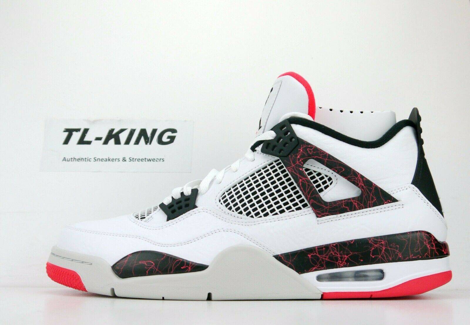 outlet store 19ed0 5ba2b Nike Air Jordan 4 Retro Flight Nostalgia Hot Lava Bright Crimson 308497-116  DT