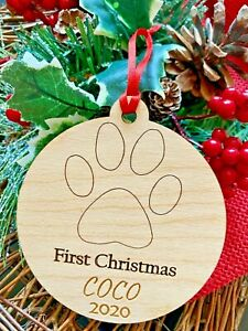 Puppy/'s First Christmas Tree Ornament